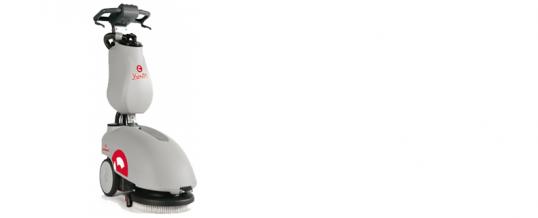 Neue Schrubbmaschine Comac Vispa